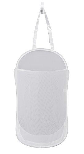 PROMART Pro-Mart Dazz Deluxe Panier de Pop-up, 3 Compartiments, Blanc, Polyester, Blanc, 17\