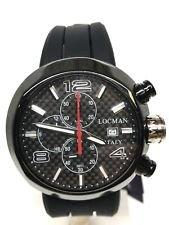 Locman change 420 chrono acciaio nero 595 euro scontatissimo nuovo