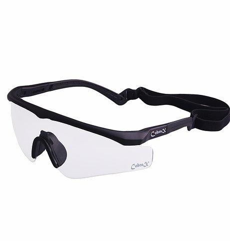 Cobrax Tactical Airsoft Sicherheitsbrillen–auch geeignet für Radfahren, Snowboarden, Outdoor, Ski, Militär, Fahrrad–UV400, Kurzsichtigkeit Rahmen