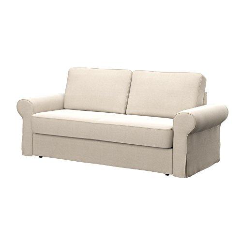 Soferia - IKEA BACKABRO Funda para sofá Cama de 3 plazas, Elegance...