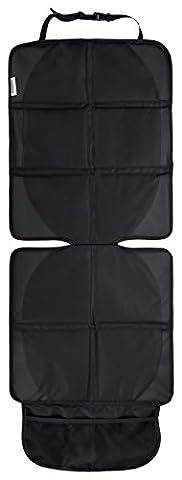 Autositz-Auflage und Kindersitz-Unterlage in Premium Qualität, ISOfix geeignet, Autositz-Schoner in