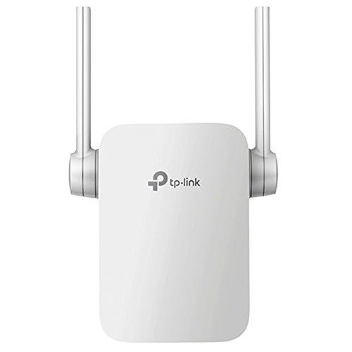 TP-Link AC1200 RE305 - Repetidor extensor de red WiFi (banda dual 1200 Mbps, WPS, puerto Ethernet, modo AP y extensor, 2 antenas)