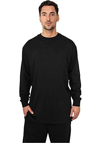 Urban Classics Herren Langarmshirt Tall Tee L/S, Schwarz (Black 7), XX-Large (Herstellergröße: XXL) (Long Tall Tee Sleeve)