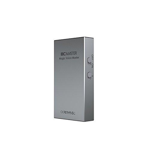 BC Master Sound Karte spezifisch Adapter für KTV, Mini Mischpult, 8 Sound Modus, 3.5mm Standardschnittstellen, Plug & Play für Computer, Smartphone, Notebook, Tablet PC, Macbook USW.