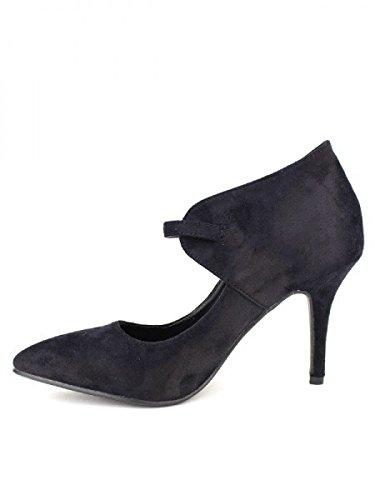 Cendriyon, Escarpin Simili peau FORLINA Chaussures Femme Noir