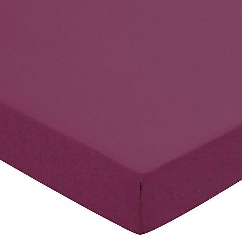Helena Springfield Plain Dye percalle 50/lenzuolo con angoli, matrimoniale, colore: