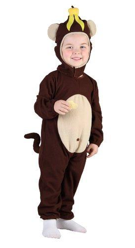 Kleinkind Affe Kostüm Alter 3 ()
