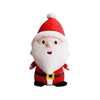 STOBOK Muñeco de Papa Noel de Peluche Niños Decoracion de Masa de Navidad 23 cm