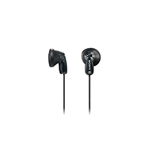 Sony MDR-E9LP In-Ear Headphones (Black)