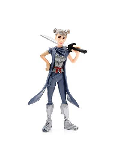 Ginkago 8pcs Fortnite decoración Figuras Juguetes Juego Personajes muñecas Regalo decoración 5