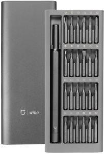 mijia Wiha Destornillador magnético de precisión Set 24cabezales libre caja de almacenamiento Herramientas de reparación Kits