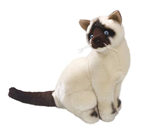 Peluche - Gato beige, Siam (felpa, 26cm) [Juguete] 3266