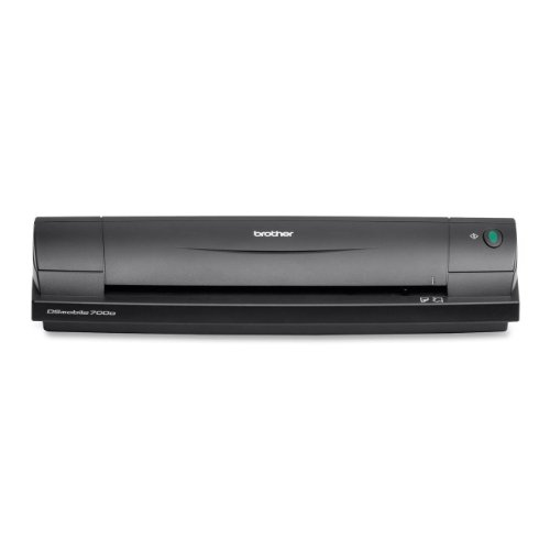 Brother DS-700DZ1 Mobiler Scanner Duplex (600x600 DPI, USB 2.0) schwarz
