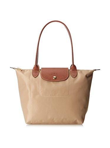 Longchamp Beige S Shopper -
