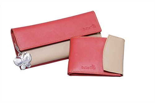 butterflies women's wallet (red and beige) (bns c019) Butterflies Women's Wallet (Red and Beige) (BNS C019) 31xbAPqX4bL