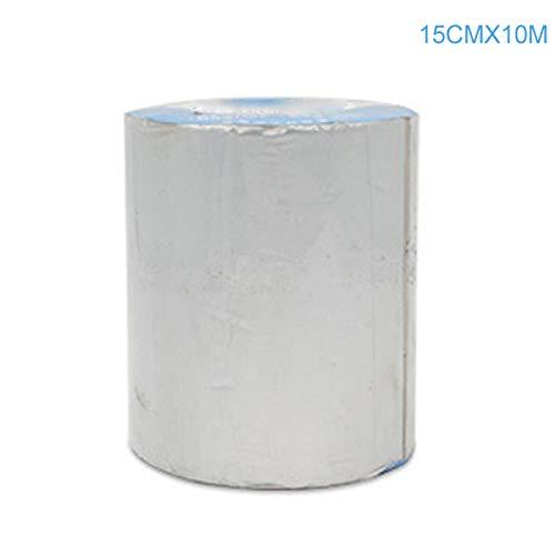 Vousmevoy Professional Waterproof Self-Adhesive Tape,Aluminum Butyl Foil Heat Shield Ideal for Walls, Attics, Air Ducts, Windows, Radiators, HVAC and Garages (Attic Windows)