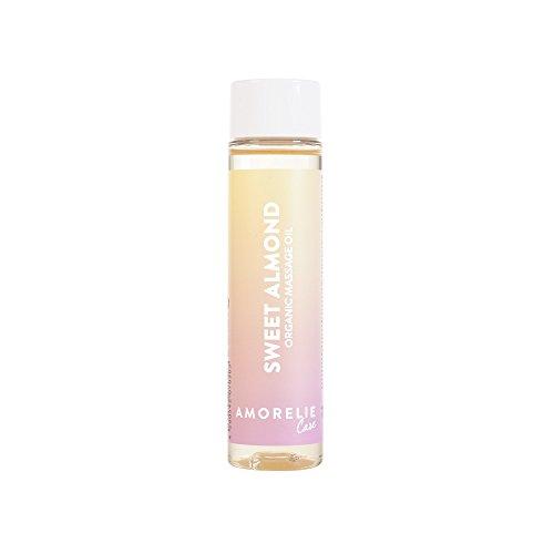 Amorelie Basics - 100 ml Bio Massageöl Sensual Vanilla | Erotisches Körperöl zum Massieren -