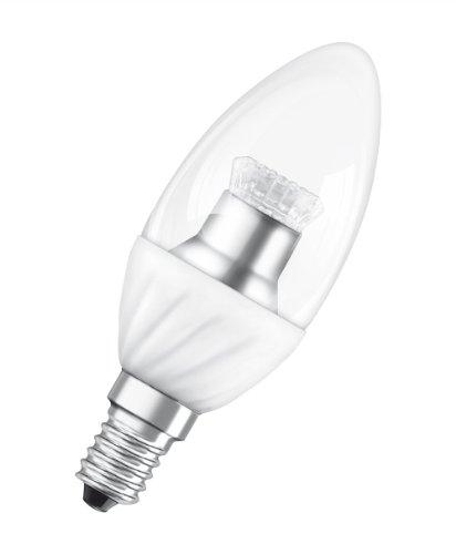 Osram LED Star Classic B25 3.5 W, ersetzt 25 W, Sockel E14, in Kerzenlampenform klar, extra warmton (827) 993137