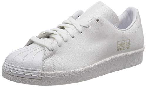 pretty nice f6649 e859b Adidas Superstar 80s Clean, Scarpe da Ginnastica Uomo, Bianco Ftwr White Gold  Met