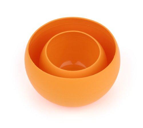 Guyot Designs Squishy Schale und Tasse Set, Tangerine