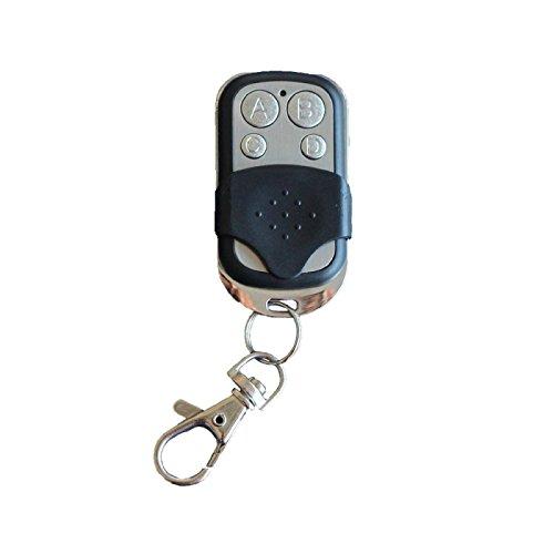 Qube–Universal-Fernbedienung für Portal–Garage–Alarm 433MHz Schellenberg Standard TX260857, RCA TX1YELLOW, mehr TX4, Premium TX4, GTA Drive Red, 60850 (Fernbedienung Rca-schalter)