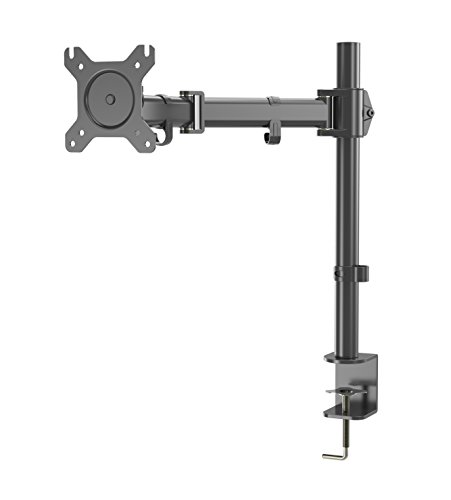 WOM D28LCD Arm , Monitor Mount Passend für Panel 38,1-68,6cm Monitore, höhenverstellbar Computer Monitor Ständer Riser Arm-desktop-pole-mount
