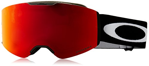 Oakley Unisex-Erwachsene Fall Line 708502 0 Sportbrille, Schwarz (Matte Black/Prizmsnowtorchiridium), 99