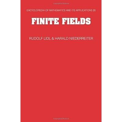 Finite Fields Encyclopedia Of Mathematics And Its
