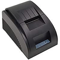 FENGT POS-5890T 58Mm Impresora Térmica USB/Caja Registradora De Supermercado/Boleto Pequeño Recibo Billete De Bill POS Cajón De Efectivo Restaurante Impresión Al por Menor