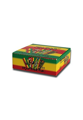 altrado Headshop Filter Tips \'Rasta\' Box mit 60 Heften