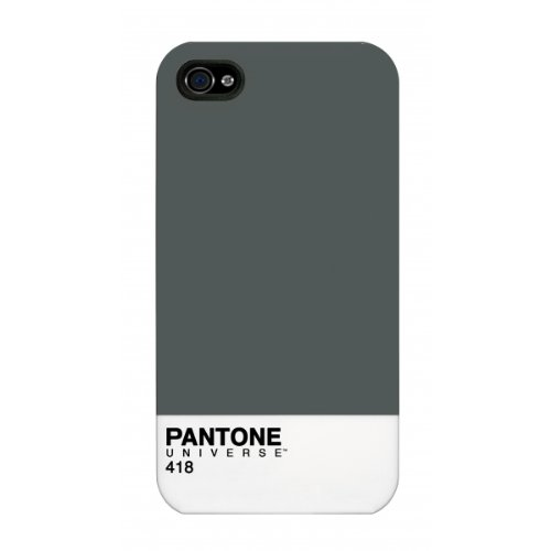 Pantone Universe Clip-On Schutzhülle Case für iPhone 5 - 19-1762 Crimson Dark Grey