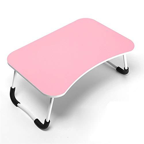 Laptop Bed Table Schreibtisch Falttisch Universität Dormitory Laptop Tisch, Portable Standing Desk, faldable Sofa Breakfast Tray, Notebook Stand Reading Holder for Couch Floor