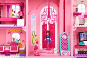 atencin a todas las fans de barbie preparaos para vivir una fantstica aventura en un mundo de fantasa con la lnea de juegos de construccin barbie