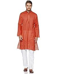 Manyavar Men's Blended Kurta & Pyjama Set (M302154)