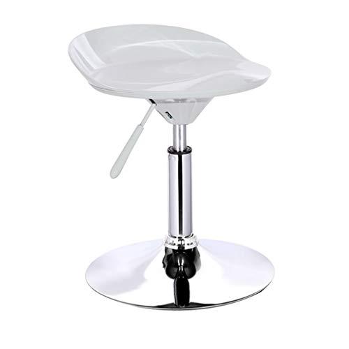 CAI Sitz Stuhl-Bar Stuhl Abs + Stahlrahmen Barstuhl Mode kann Heben Air Rod 360 Grad; Drehung Barhocker Einfache Haushalts Bar Rezeption Tall Hocker rund Basis Durchmesser 38,5 cm - Schwamm + Kuns -