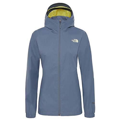 THE NORTH FACE Damen Quest Jacke, Grisaille Grey/Exotic Green, L