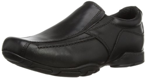 Hush Puppies Bespoke Jnr, Boys' Loafers, Black (Black), 2 UK (34 EU)