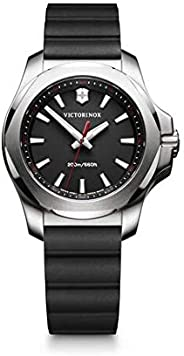 Victorinox Swiss Army Womens Quartz Watch, Analog Display and Rubber Strap - 241768