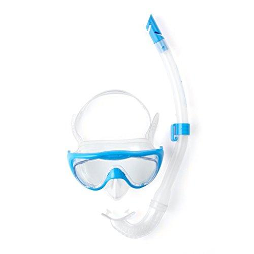 Speedo Accessoires Glide Junior Snorkel Set, Blue, One Size, 8-036310309ONESIZE