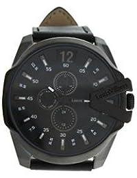 Reloj hombre Louis Villiers acero negro 50 mm lvag8912 – 8