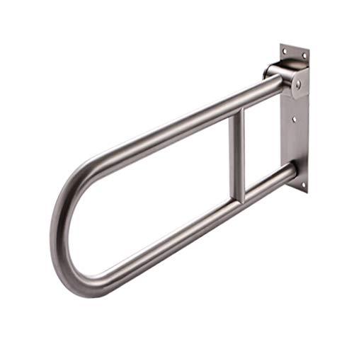 Accoudoir Toilette Pliante En Acier Inoxydable Accessibilité Pour Personnes Handicapées Salle De Bains Vieil Homme (Couleur : B)