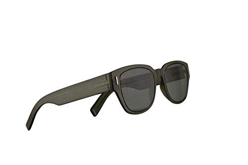 Dior christian homme diorfraction3 occhiali da sole cachi con lenti verde 50mm 3y5o7 fraction 3 fraction3