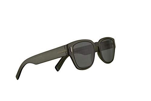 Dior Christian Homme DiorFraction3 Sonnenbrille Grün Mit Grünen Gläsern 50mm 3Y5O7 Fraction 3 Fraction3