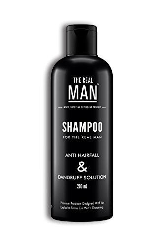 Anti Hair Fall & Dandruff Solution Shampoo (200ml) by THE REAL MAN