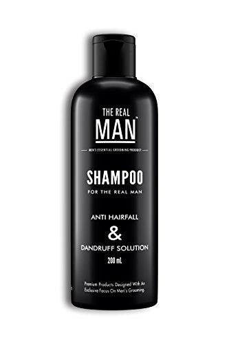 Anti Hair Fall & Dandruff Solution Shampoo (200ml) by THE REAL MAN