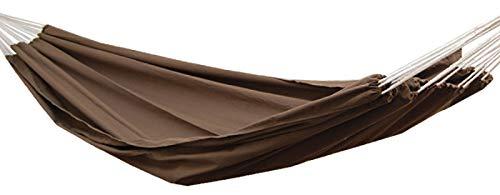 Supporta fino a 150 kg 100/% cotone Amache persone insieme beige AMANKA Amaca XXL per 2 persone 400x160cm