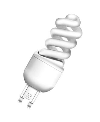 Osram 510792 Duluxstar Nano Twist 7 W/825, entspricht 40 Watt, 220-240 V Sockel G9 Energiesparlampen in Spiralform klein 30 mm, warmweiß von Osram auf Lampenhans.de