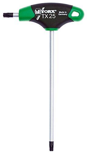 TORX® 70525 Schraubendreher T25 2K mit T-Griff | Made in Germany | Torxschlüsselsatz | Schraubenschlüssel | TX | für Torx Schrauben