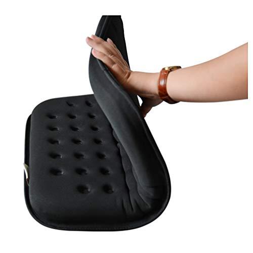 Komfort-rollstuhl-sitzkissen (Gel-Sitzkissen gegen Dekubitus, Hochwertige Komfort-Therapie-orthopädisches Gel-Sitzkissen, für Rollstuhl, Autositz, Haus oder Büro,A1)
