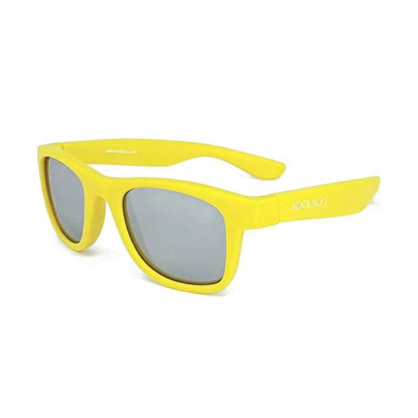 KOOLSUN - Gafas de sol para niños (1-5 años, acuario blanco) 1